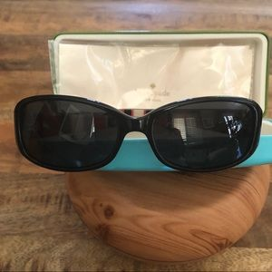 002676d49a93 kate spade Accessories - Kate Spade Paxton s Black Polarized Sunglasses